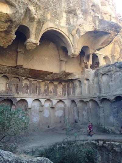 Erdemli canyon hiking monastery caleb
