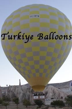 Turkiye balloon with name