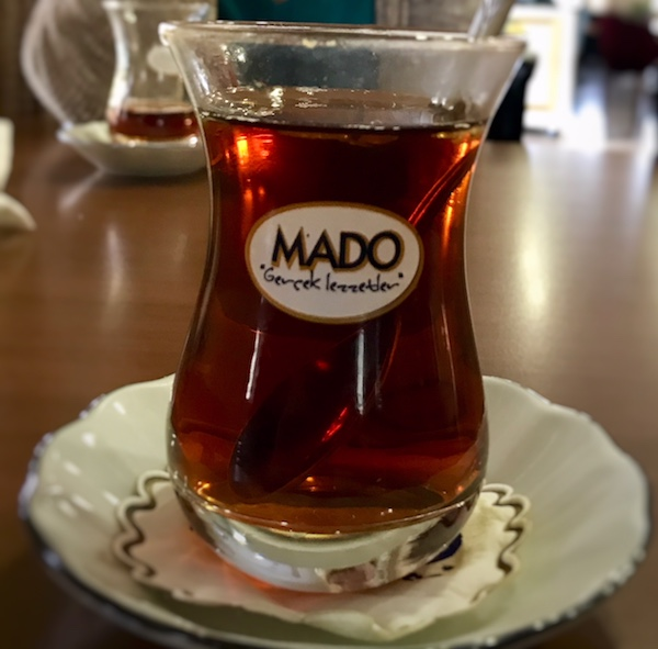 Best cup of Turkish tea in Cappadocia challenge